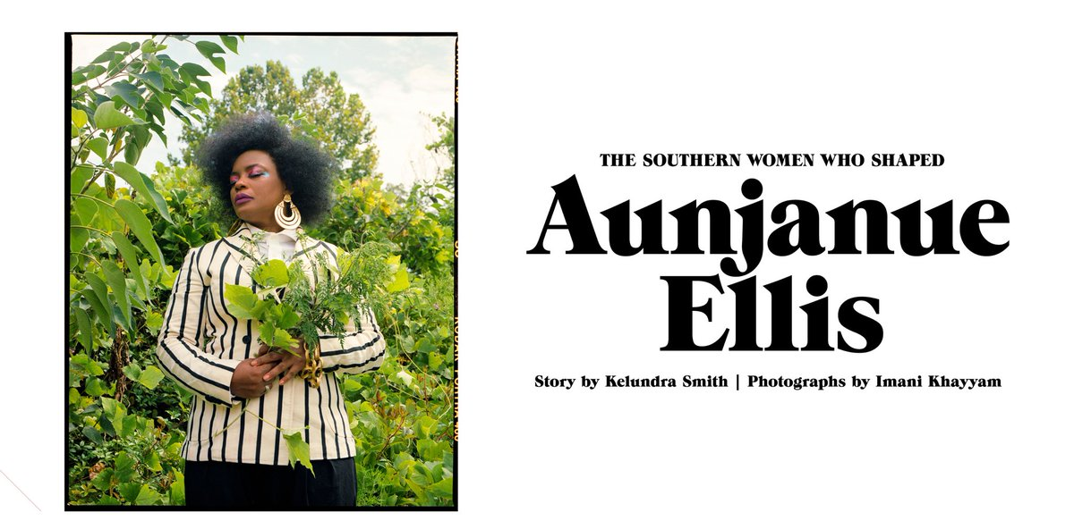 Actress Aunjanue Ellis ( @aunjanuejlt ) spoke with @pieceofkay about her work in Hollywood, the Southern women who've formed and inspired her, and why she calls Mississippi home. https://t.co/FSXt4dSmgF (📸 @ImaniKhayyam ) https://t.co/UO3xTHUcEJ