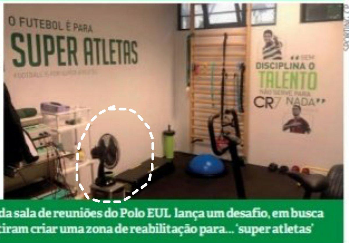 Finalmente, o sistema de ar condicionado que faltava para formar super atletas. Obrigado Varandas https://t.co/xl0vPzcaeA