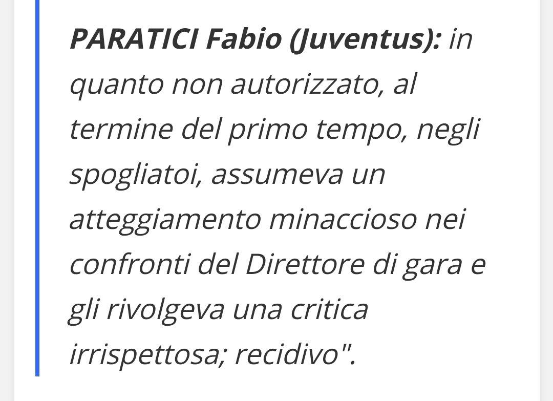#Paratici