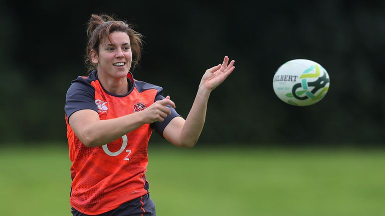 test Twitter Media - England captain Sarah Hunter to miss Sunday's Six Nations game against Italy as the champions seek a second successive Grand Slam: https://t.co/baPLNn5FfP https://t.co/w8pcz7DwaJ