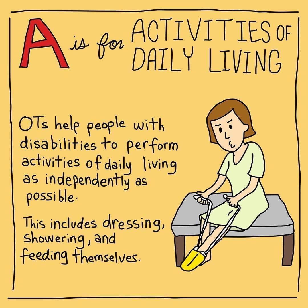 Happy #OccupationalTherapy Day! 💚 Absolutely love my job as an OTA and learning all about OT and what our wonderful OT's Lisa and Rhiannon do everyday. Nothing like helping others being as independent as possible 💚 #PennineCarePeople https://t.co/ux4UkgvnFU