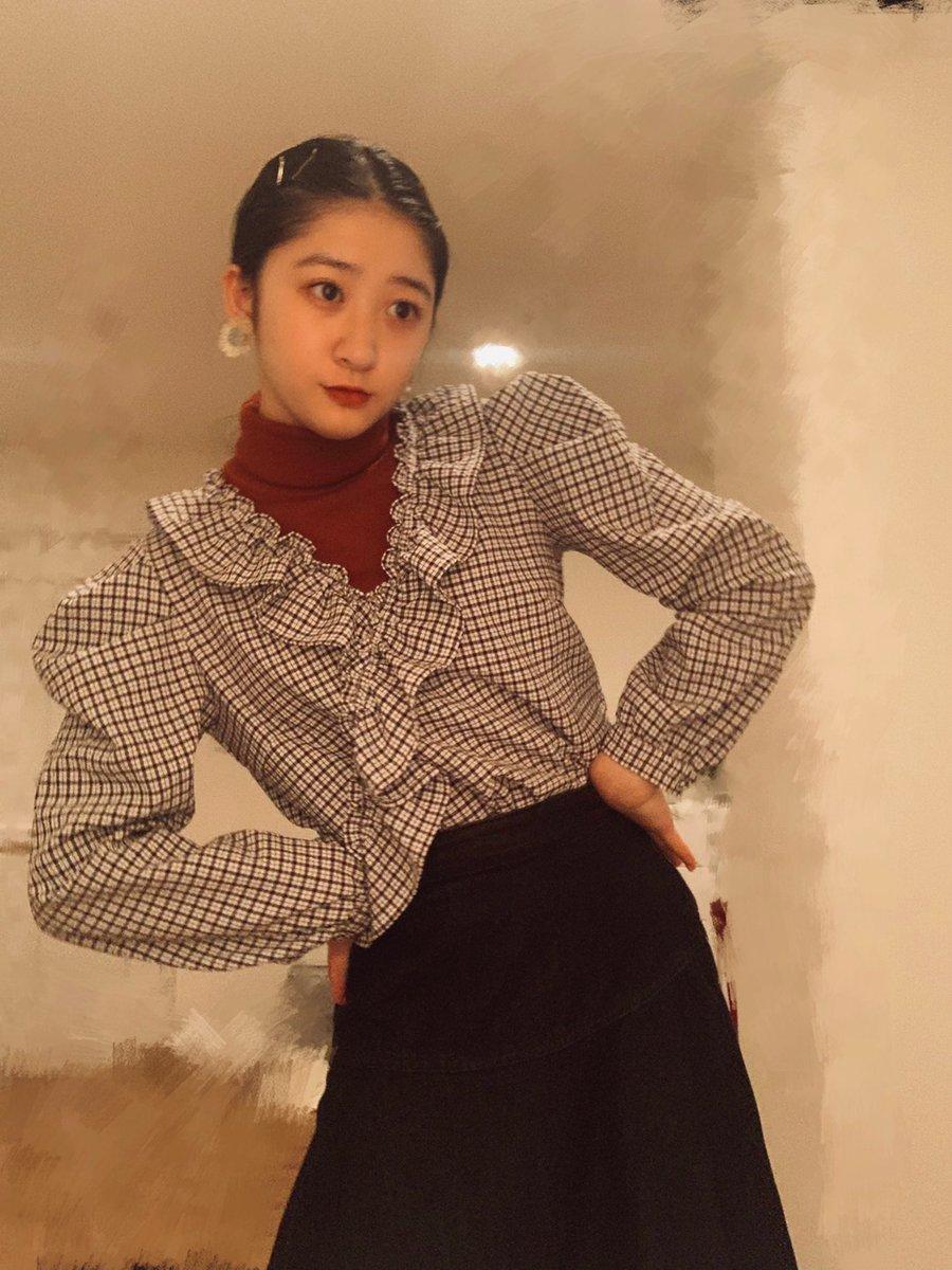 【Blog更新】 おようふく  秋山眞緒: good evening everyone akiyama…  #tsubaki_factory #つばきファクトリー #ハロプロ