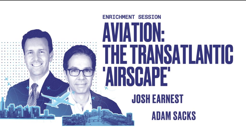 "Who's ready for Brand USA Travel Week Europe Day 2? We're excited about our first enrichment session: Aviation, The Transatlantic ""Airscape"" with @united's @joshearnest & @TEglobaltravel's Adam Sacks #BrandUSAGlobalMarketplace https://t.co/YAUV5fYmWy"