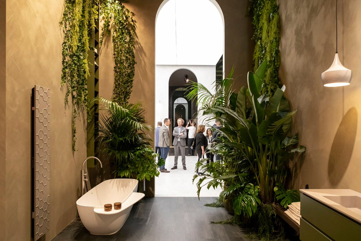 Trendoffice: A glimpse to #Salone 2021 https://t.co/aMRELpSDA1 A greener bathroom with a focus on sustainability is expected to be one of the #trends we are to see in the next #InternationalBathroomExhibition: https://t.co/k6qjhOIRm2