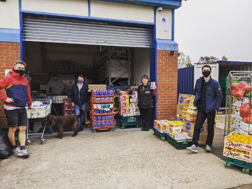 Our effort to fund kid's meals this half term finished on a truly astounding £1341  Today we turned that into ingredients for hundreds of meals Thank you so much for the incredible support and to our friends @_6_Barrels for helping deliver #ENDCHILDFOODPOVERTY @MarcusRashford https://t.co/mnvv6MoNzd