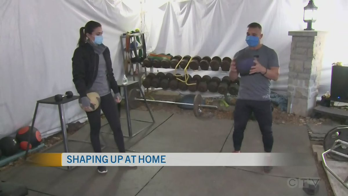 Live Eye: At-Home Workouts | @CTVOttMornLive's @thejasminrose is joined by elite personal trainer @TonyGrecoTG with his breakthrough program to help you uncover your fittest self.   https://t.co/zGDZfsbsOZ https://t.co/FnoBHRSx2p