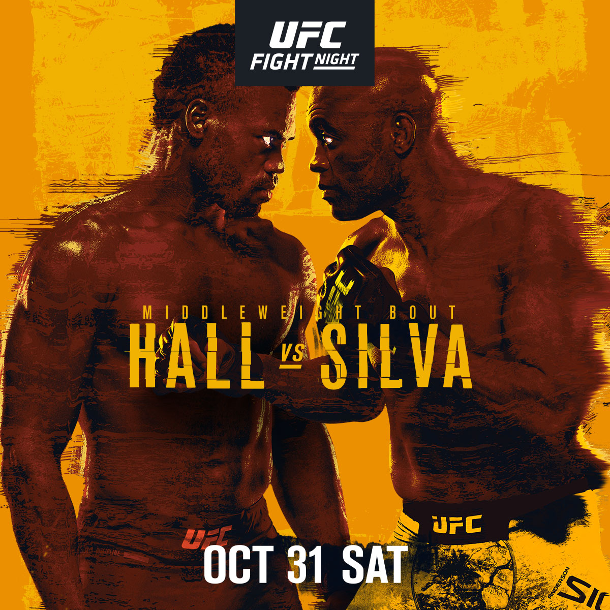 The Spider is back just in time for Halloween!! 🕷🎃  Anderson Silva faces Uriah Hall in our #UFCVegas12 main event Saturday night 👊 https://t.co/MTRcIZXgXD