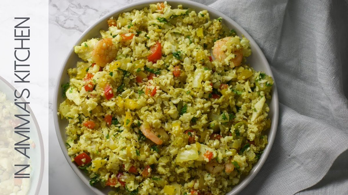 Simple Cauliflower Fried Rice Recipe #africanfood #happilynatural #rva #knowthyself https://t.co/2U6oRG5HOK https://t.co/YWX54IF43R