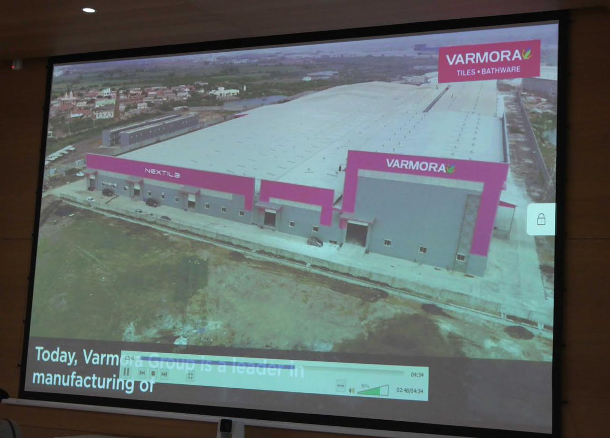 Varmora Group to set up two new manufacturing plants; virtual stone laying performed