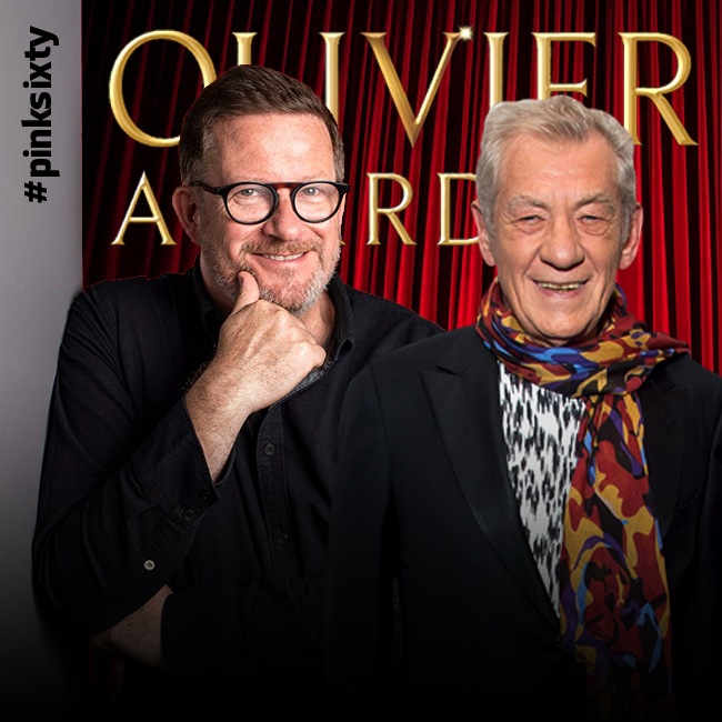 #IanMcKellen and #MatthewBourne added to their trophy cabinets at the #OlivierAwards in London on Sunday.  Sir Ian won his 7th Olivier for his one-man show, while Sir Matthew took home his 9th, for choreographing #MaryPoppins. https://t.co/q0i1nIvVaI