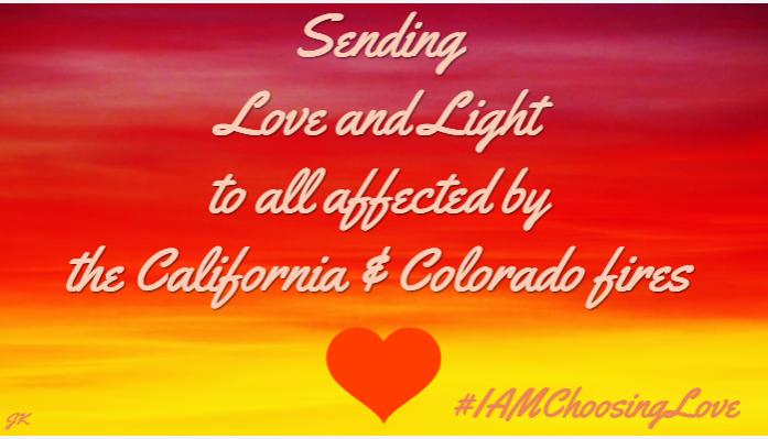 #IAMChoosingLove #SilveradoFire  #BlueRidgeFire #CalWoodFire #Coloradofires #LUTL #joytrain https://t.co/ZbVgZAD6ug