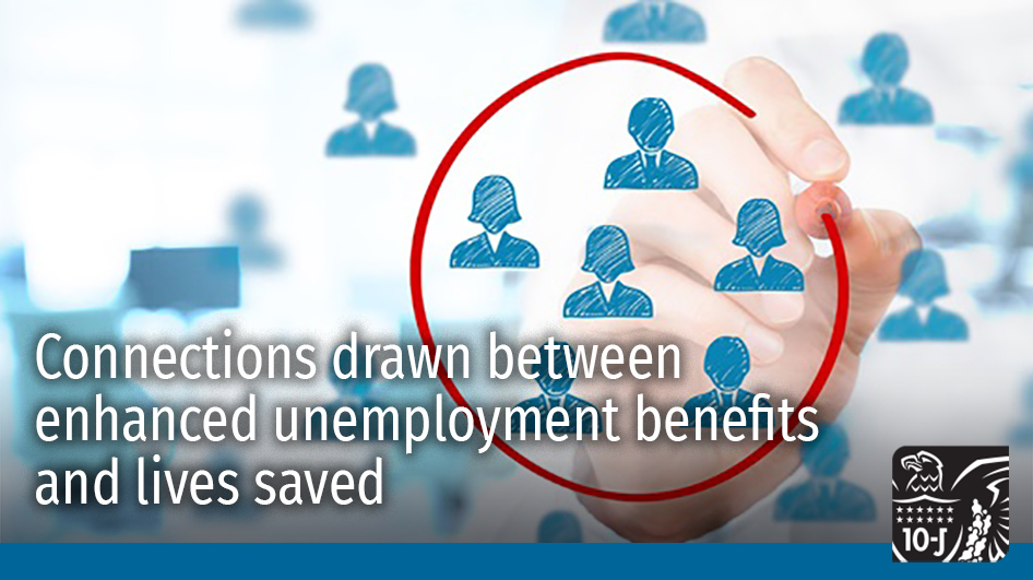 As the economic crisis continues, research findings from the #KCFed and @AtlantaFed assert a connection between enhanced jobless payments and lives saved. Read more in TEN Magazine: https://t.co/WAPRgmX6xw #EconTwitter #COVID19 #Unemployment https://t.co/NEfV01ZB7F