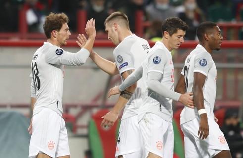 Goretzka marcou em seus últimos 3 jogos de competição europeia pelo Bayern: Contra Sevilla (Supercopa), Atléti (UCL) e hoje vs Lokomotiv. https://t.co/WoqkudwIux