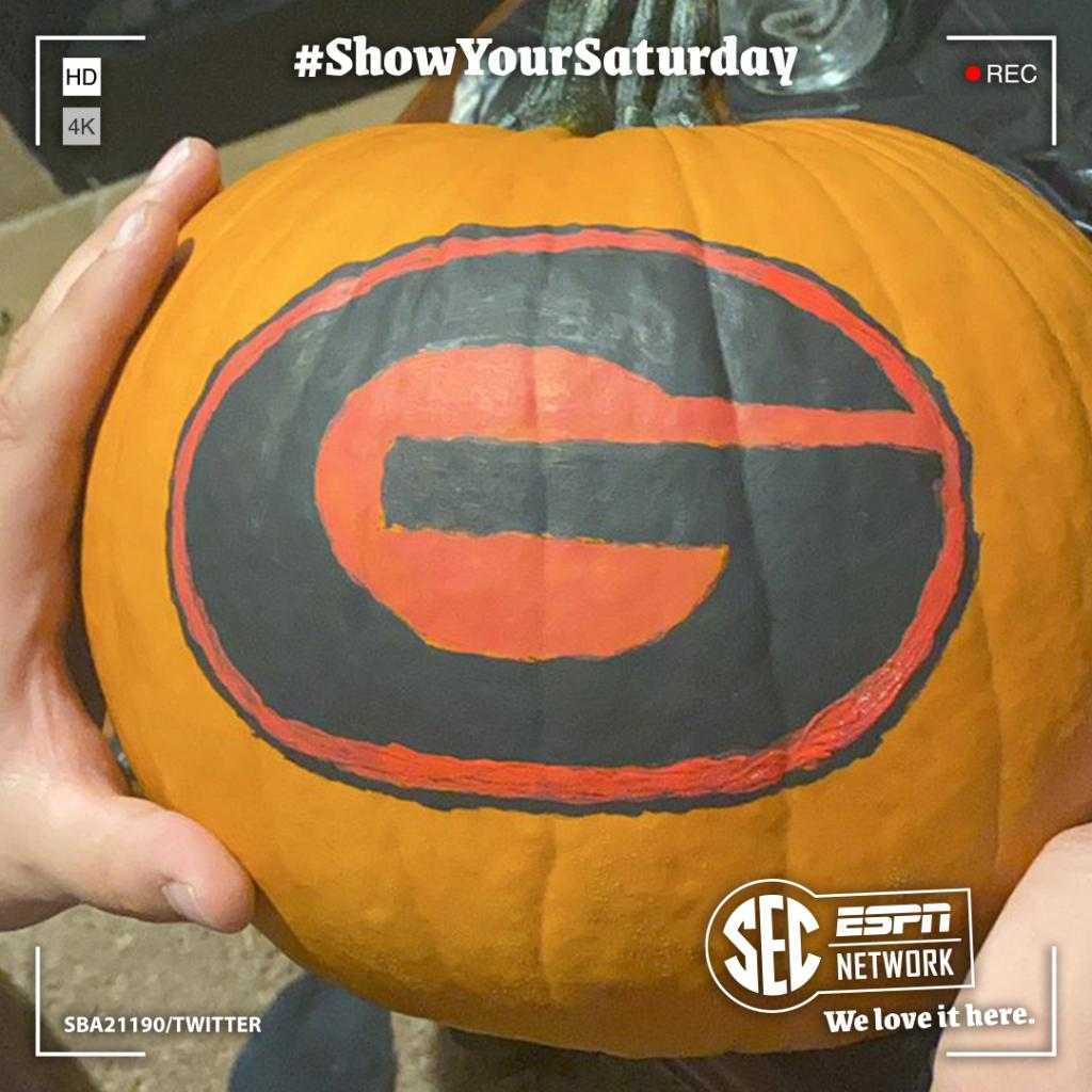 SPOOKY SZN: SEC edition  Which 🎃 is your favorite? #ShowYourSaturday https://t.co/RSxjStIac2
