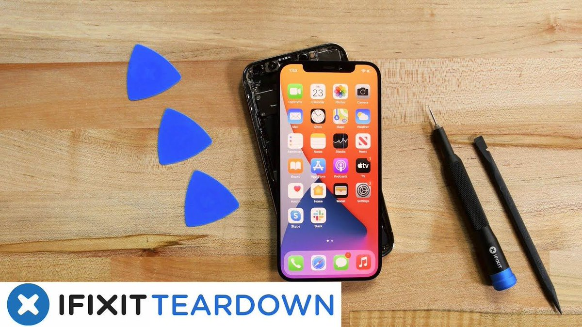 We tore down the iPhone 12 for professionals only: https://t.co/IaLXDvJEep https://t.co/m5VaQ7X54q
