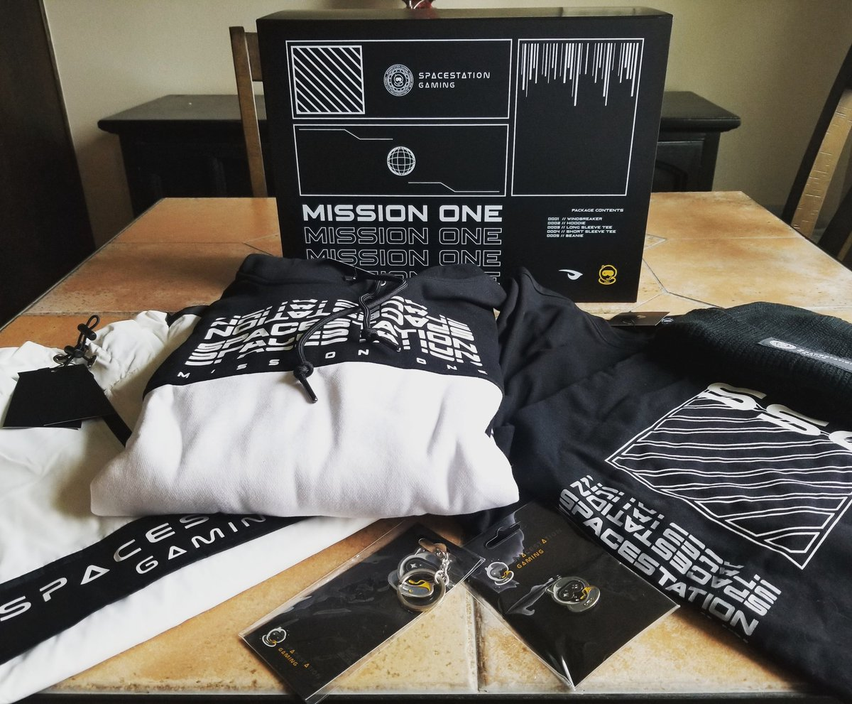 Incon - Mission One is here! @SpacestationGG has the best merch in the game!