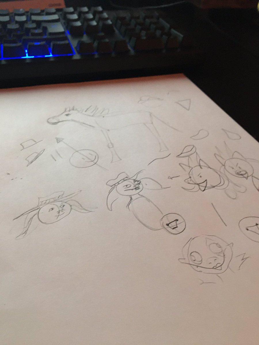 Carmen is teaching me how to draw. Help. https://t.co/0hPpaCvVFJ