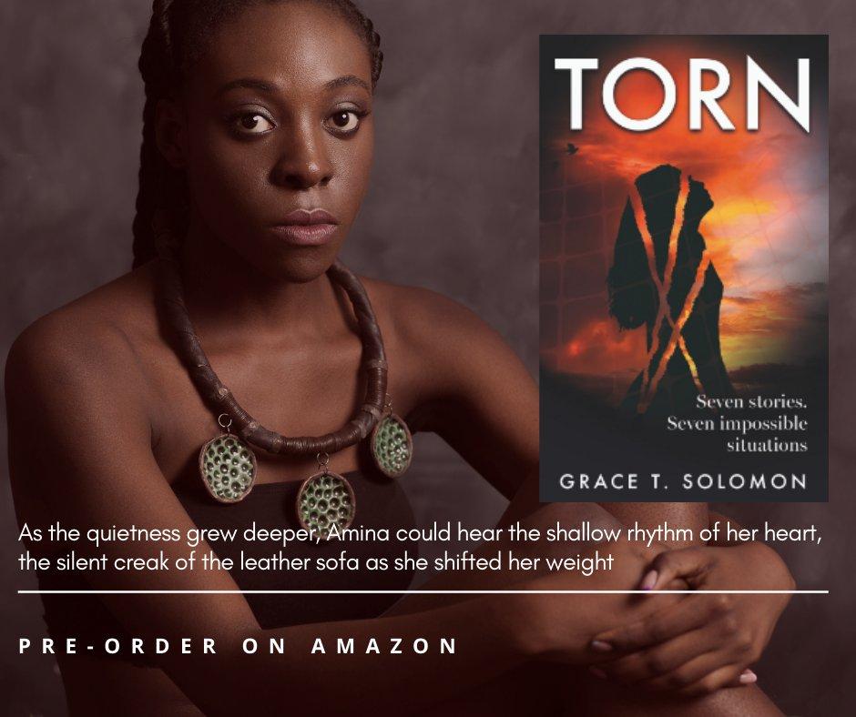 Pre-order on Amazon  #GraceTSolomon #Books #Stories #Amazon #Silence #UnforseenHope https://t.co/Zl1hzrdZSz