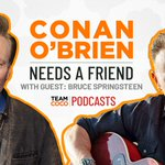 Image for the Tweet beginning: Listen in as @ConanOBrien talks
