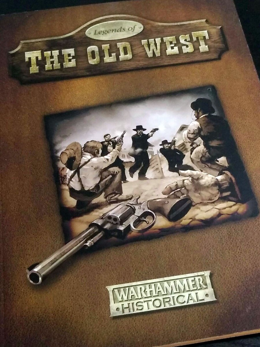 We're going through various Warhammer Historical books; remembering and reminiscing about these varied and now defunct rules. Do you have fond memories of this historical experiment from GW?  #tabletopgaming #historicalgaming #gamesworkshop #warhammer #wildwest #wargaming https://t.co/dGuCYyHE0G