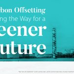 Image for the Tweet beginning: Carbon offsetting is the method