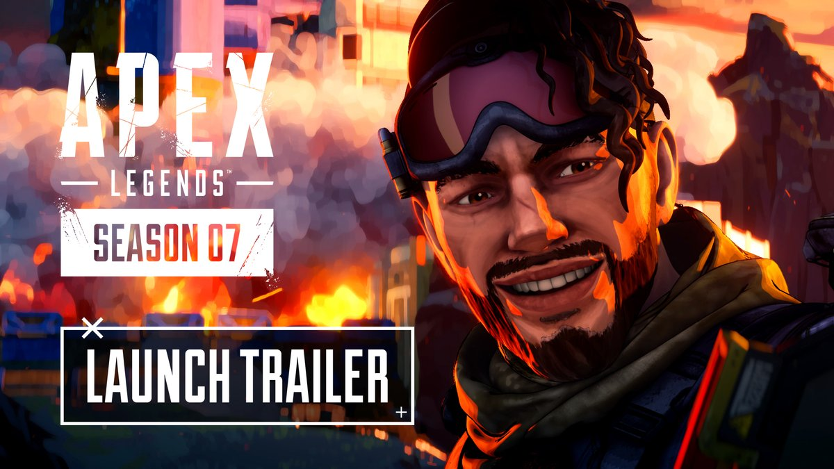 With World's Edge on the verge of collapse, the Apex Games need to find a new home. Tune in tomorrow at 8 AM PT to watch the Apex Season 7 Launch Trailer. There's a whole new world on the horizon...  📺 : https://t.co/pDDK3xH6HW https://t.co/BLciJ96Rhz