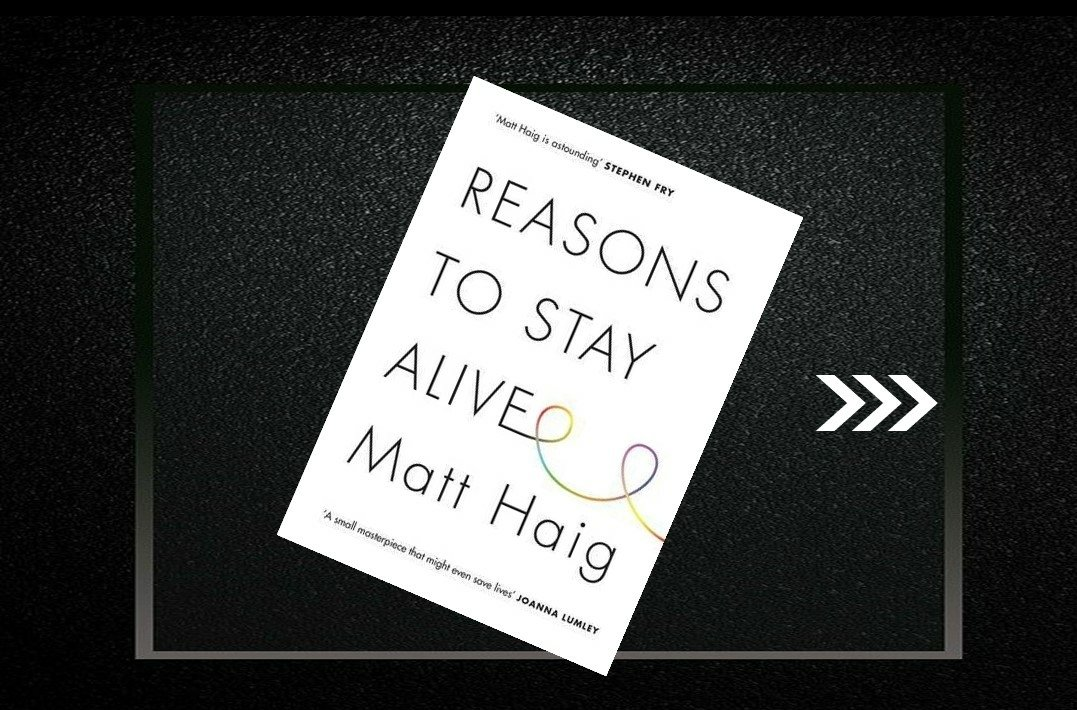 A thread on book #reasonstostayalive  The interesting points of the book are shared in the thread. #motivation  #books  #Twitter https://t.co/3QGLbC6ZM8
