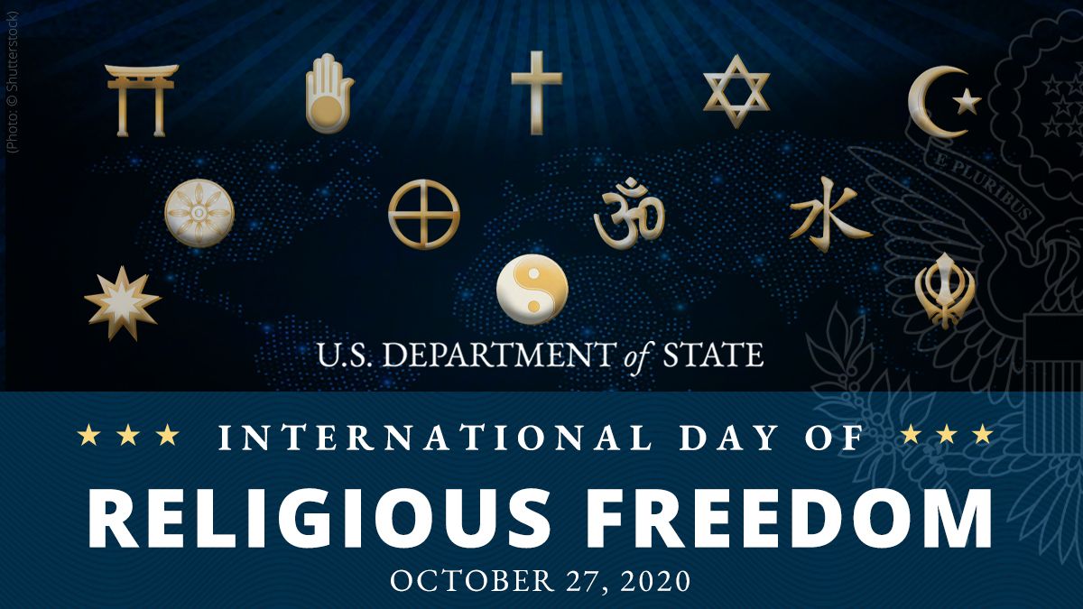 Twenty-two years ago, inspired by the vision of America's founders, the U.S. enacted the International Religious Freedom Act, expanding our foreign policy toolset to advance religious freedom globally. Today, our commitment to defending this right has never been stronger. #IRFDay