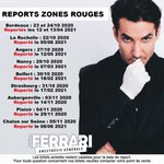 Image for the Tweet beginning: Couvre-feu, distanciation, voici les reports