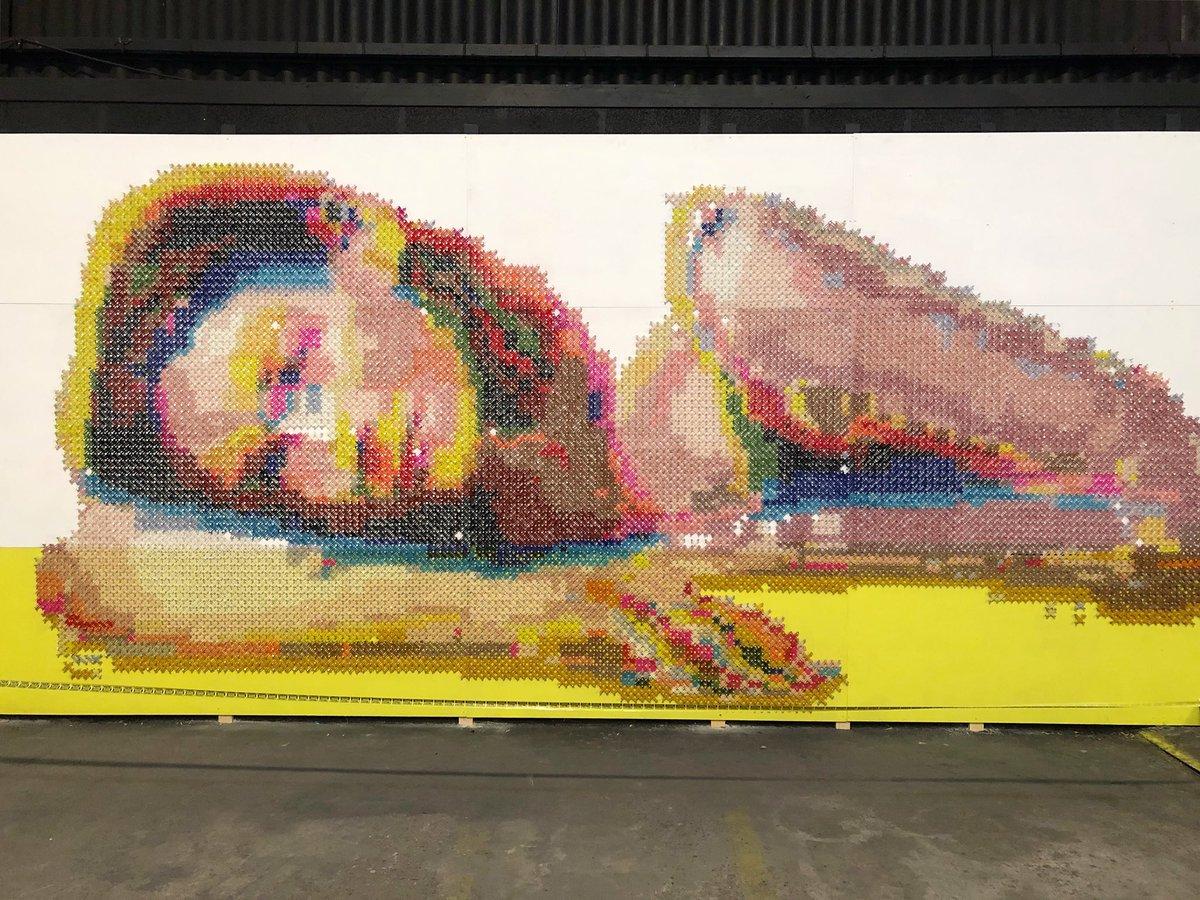 #StreetArt #Art #Artist #Graffiti #Lyon #PeintureFraicheFestival https://t.co/JokU2I8rWv