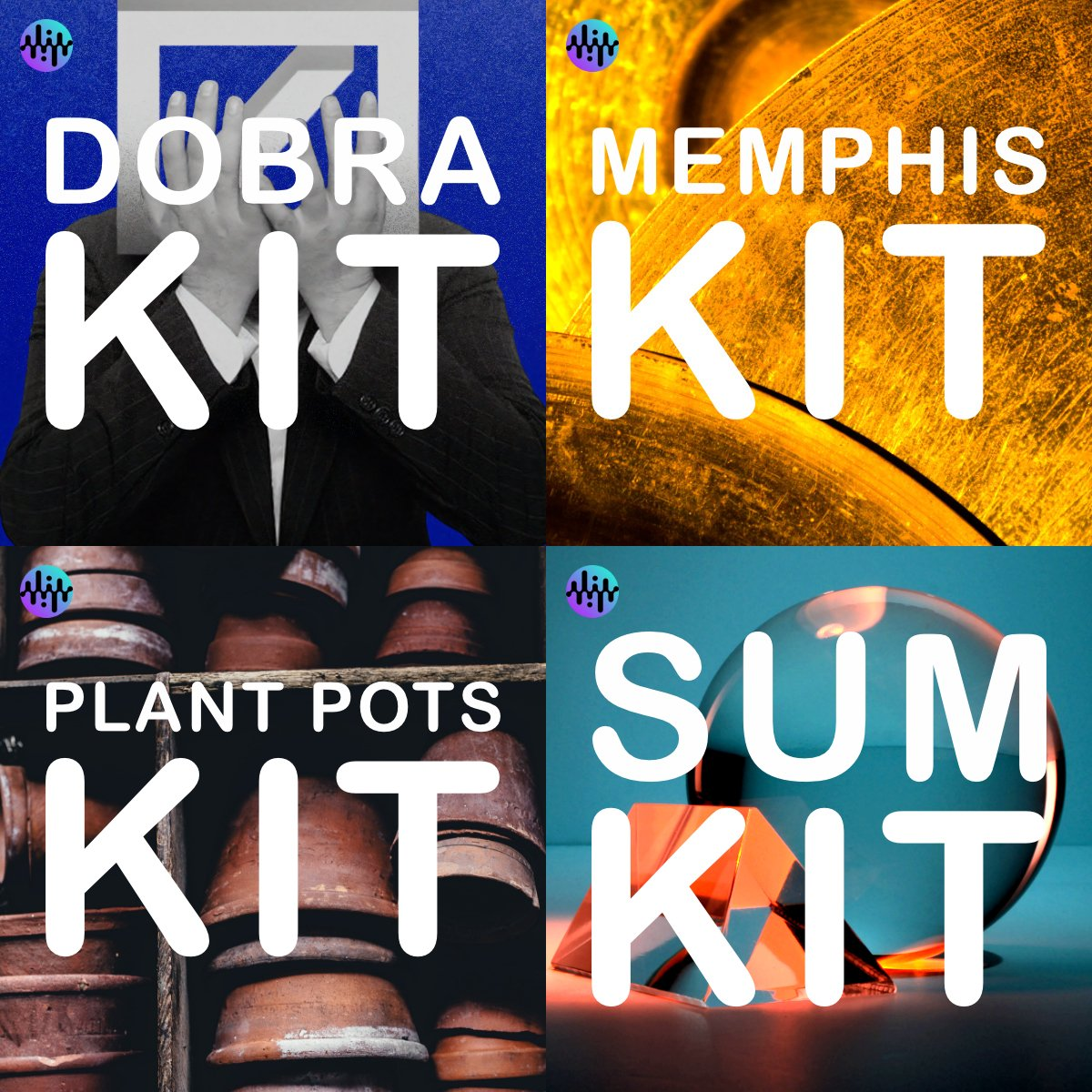 New drum kits to explore! We've added more kits to the collection, from smashed plant pots and vintage acoustic kits to swung hip hop and sub-heavy techno.   Now available with a Noiiz membership: https://t.co/gbhGHKccz9  #drums #drumkits #drumsamples #samples https://t.co/PrmrdU6Ytq