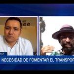 Image for the Tweet beginning: En @TVU_television de Concepción entrevistaron