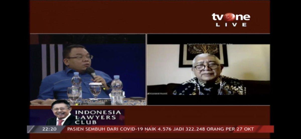 #ILCMenungguVaksin | SALEH DAULAY X PROF. dr. KUSNANDI RUSMIL https://t.co/L5FELlgqYC