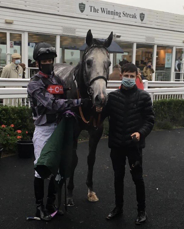 Lucky Lucky Man gets back to winning ways at Catterick. Well done to owners Musley Bank Partnership. Great result
