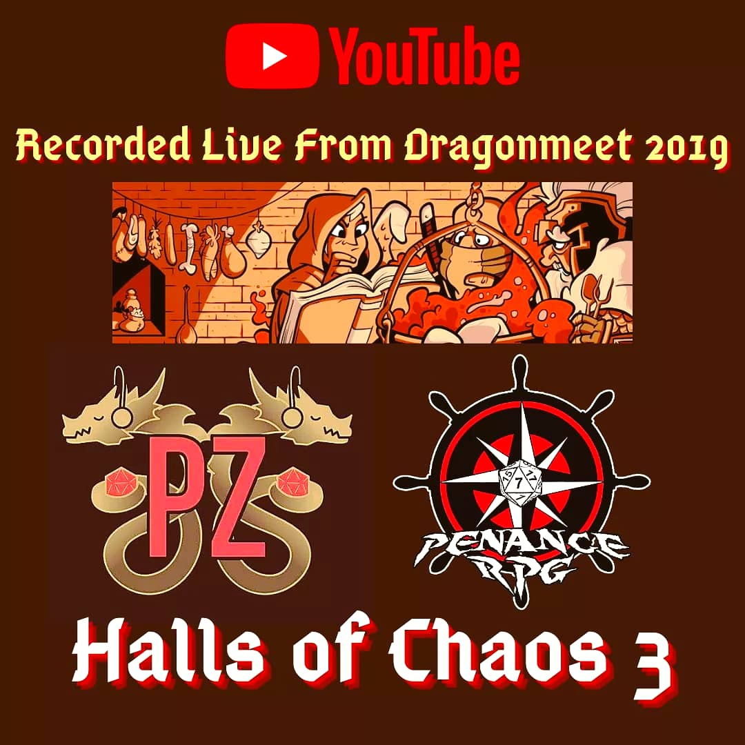 https://t.co/3F5WBtwEQ3  Recorded live throughout the day at #Dragonmeet 2019 Halls of Chaos 3 features:  Adam From @RPGKitchen https://t.co/SOrDa2GUBx https://t.co/qCEq5a27rQ https://t.co/vbiLYuEZFc  And, ofc, Belry!  Support us on Ko fi and Patreon #podcast #ttrpg #gaming #rpg https://t.co/OsZ8ZAS3xg