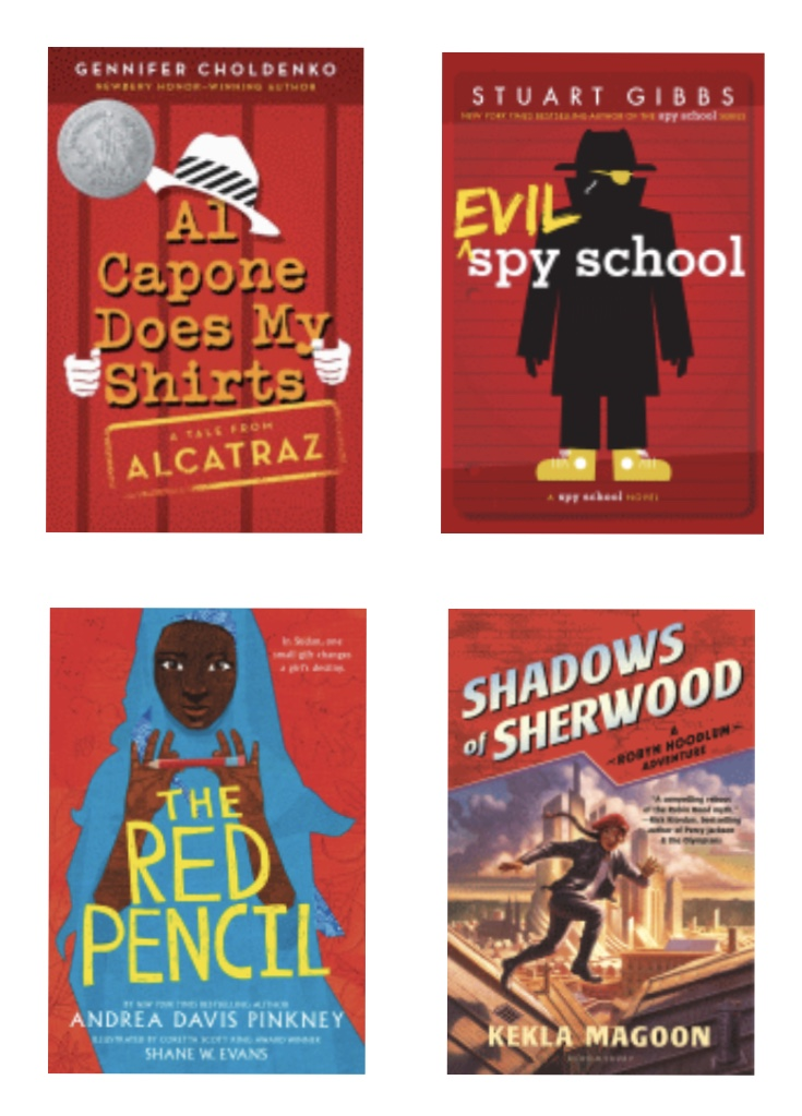 And now for something a little different, here are some books w/ red covers for <a target='_blank' href='http://search.twitter.com/search?q=RedRibbonWeek2020'><a target='_blank' href='https://twitter.com/hashtag/RedRibbonWeek2020?src=hash'>#RedRibbonWeek2020</a></a> <a target='_blank' href='http://twitter.com/SACJennysexton'>@SACJennysexton</a> <a target='_blank' href='http://search.twitter.com/search?q=wmsreads'><a target='_blank' href='https://twitter.com/hashtag/wmsreads?src=hash'>#wmsreads</a></a> <a target='_blank' href='http://twitter.com/wmspta_wolves'>@wmspta_wolves</a> <a target='_blank' href='http://twitter.com/BoykinBryan'>@BoykinBryan</a> (BTW, some librarians secretly love the challenge of finding that book you somewhat remember based on the cover color!) <a target='_blank' href='https://t.co/Gn9SdVuD0e'>https://t.co/Gn9SdVuD0e</a>