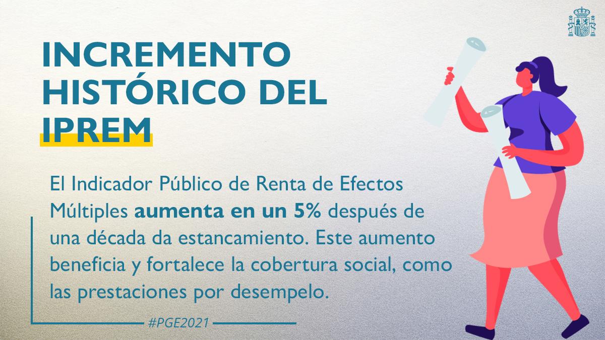 Twitter Ministerio Trabajo y Economía Social. ✅ El IPREM es el principal índice para ...: abre ventana nueva