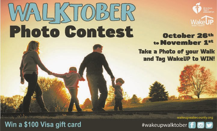 #ad Walking is one of the best things you can do for your health. Share pictures of yourself walking between now and Nov. 1, and you'll be entered for a chance to win a $100 gift card. Tag @wakeupwake and use #WakeUPWalktober to enter. Learn more at https://t.co/j6pUZlL71D https://t.co/hL44lOnAda