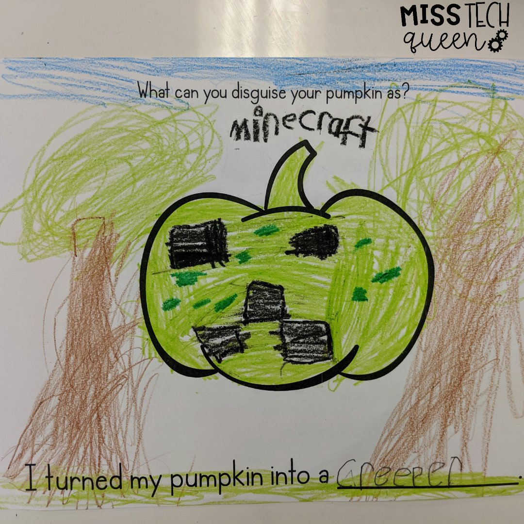 What is your pumpkin🎃 disguised as this Halloween? Great activity for working on the 'A' in STEAM!  Check out the printable/digital copies of this activity in my TPT store!  #teachersfollowteachers #teacherinspo #tpt #education #teachersoftpt #teaching #artactivities #steam https://t.co/WJlwSDoPv0