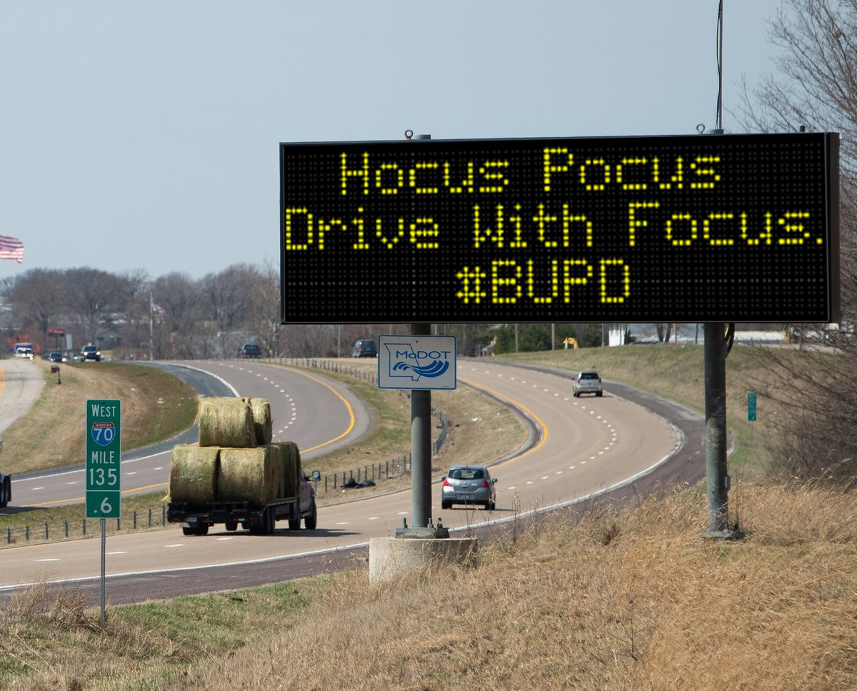 Image posted in Tweet made by MoDOT on October 27, 2020, 4:01 pm UTC