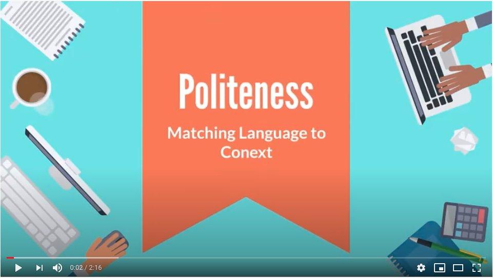 10/27 @CornellLRC Lunchtime #virtuallanginstruction Tips: Politeness and  matching language to context  https://t.co/M2cfaypVhU   via @CASLS_NFLRC  #distancelearning #onlinelearning #virtualinstruction #worldlanguage #secondlanguage #bilingual #polyglot #multilingual #langchat https://t.co/aqUJxrty9p