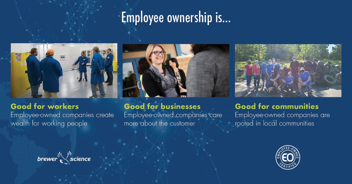 test Twitter Media - Employee ownership is... Good for workers Good for businesses Good for communities For more information, visit:  https://t.co/R3SnshQ1fC #EOMonth #EmployeeOwned https://t.co/3lJLnKFfC7