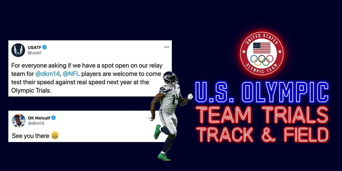 .@USATF laid down the challenge.  @dkm14 accepted.  Game on. https://t.co/w8Vv1DzRYV