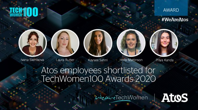 Congratulations to our five fantastic female colleagues who have been shortlisted in the @WATC_W...