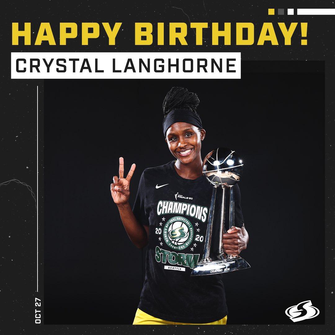 Happy birthday, @crystalanghorne! 🥳🎂 https://t.co/lyEqIGtxjY