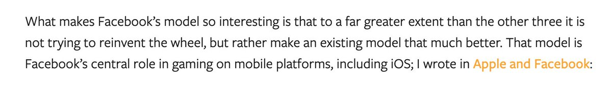 .@benthompson has some great takes on our cloud gaming platform. Check it out on today's @stratechery