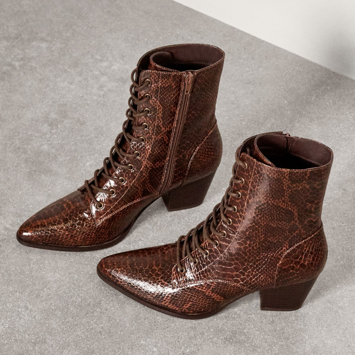 The Calico Lace-up Boot is the ultimate go-to silhouette for fall. Pair it with any look for an instant style-boost. https://t.co/YCEcyLlB1J https://t.co/moXrhFwMbW