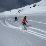 Image for the Tweet beginning: Powder day in Sölden for