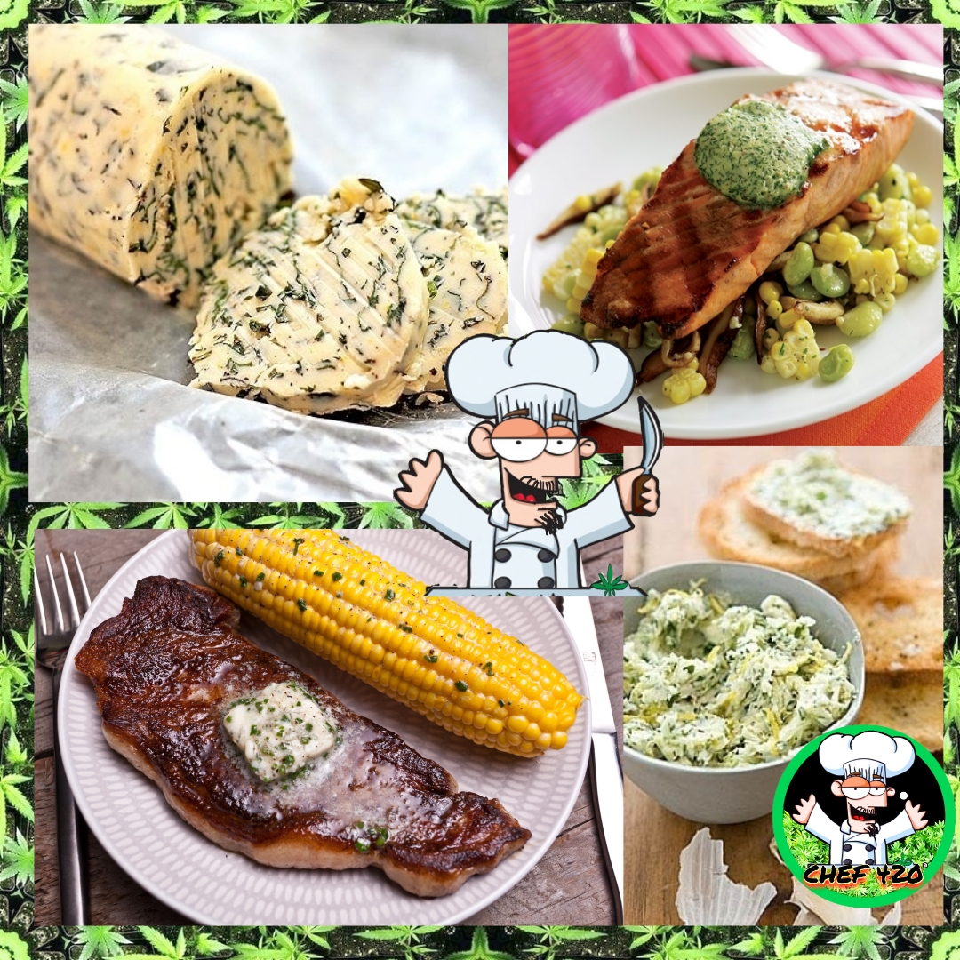 Chef 420s Infused Compound Butter Recipes, Basil Butter, Blue Cheese Butter, Garlic Herb Butter, Herb Butter, Lemon Basil Butter, Sundried Tomato Butter, Honey Butter!  https://t.co/NcsBfrLy3i  #Chef420 #Edibles #CookingWithCannabis #CannabisRecipes #InfusedRecipes https://t.co/hM5Q9P7TfJ