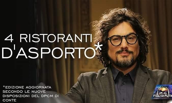4Ristoranti...d'asporto la nuova serie di Alessandro Borghese...🤣 https://t.co/kmRJJaXF5i